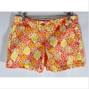 crown & ivy Shorts - Crown and Ivy Shorts Size 8 women's yellow orange